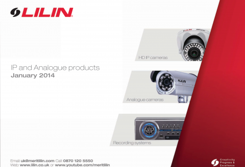 2014 LILIN Price List