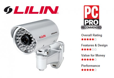 LILIN's LR7022 IP Camera is now PC Pro Recommended
