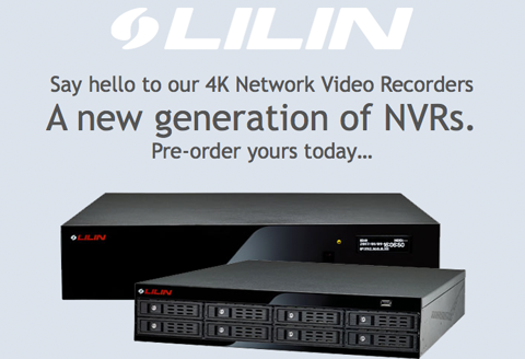NVR 5 Series. A new experience in 4K NVR technology.